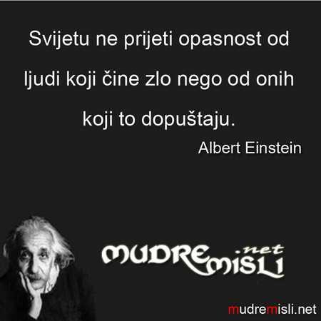albert einstein izreke Albert Einstein 1   Mudre Misli albert einstein izreke